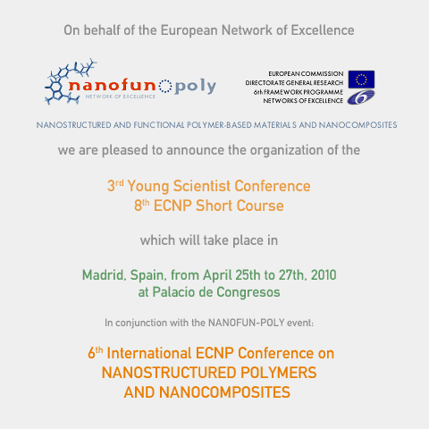 European Centre for Nanostructured Polymers